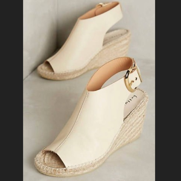 b93d677d099 Bettye Mueller Leather Wedge Espadrille Sandals